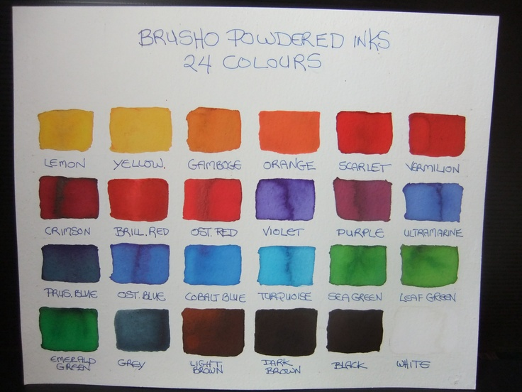 Brusho Shop Elda Abramson Art Pinterest Shops