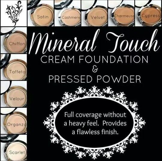 Younique mineral touch cream & pressed powder foundation! Get a flawless finish for your makeup.