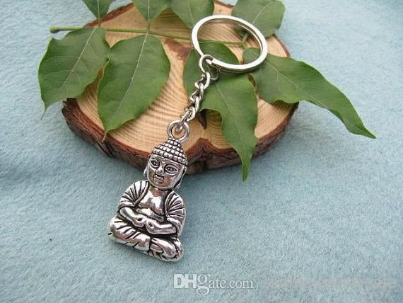 Simple photo keyring, floral car keychains or adorable cartoon batman keychain, you will never be disappointed by simplejewelrysale when looking for  silver buddha choker spiritual jewellery buddha keychain handmade choker fashion jewellery buddha charm choker gift.
