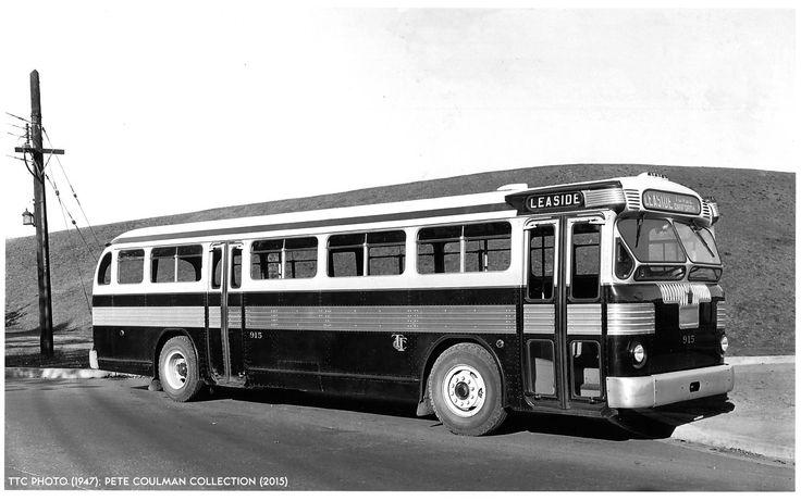Toronto TTC Twin Coach