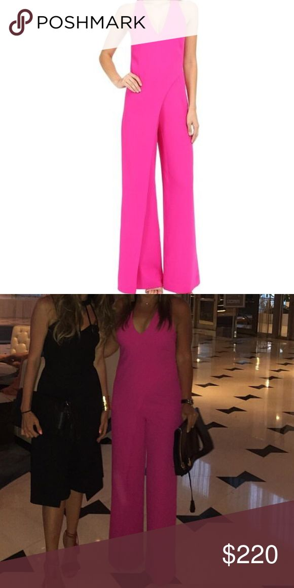 Trina Turk jumpsuit Very stylish and comfortable jumpsuit. I've only worn it twice. Like new!  Size 6. Color-fuchsia Trina Turk Other