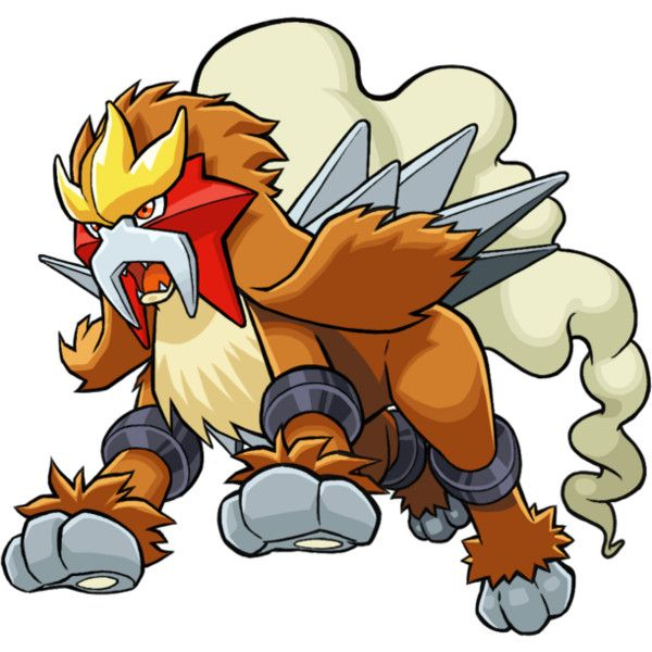 I've never really cared much for Entei, although it's really been growing on me lately