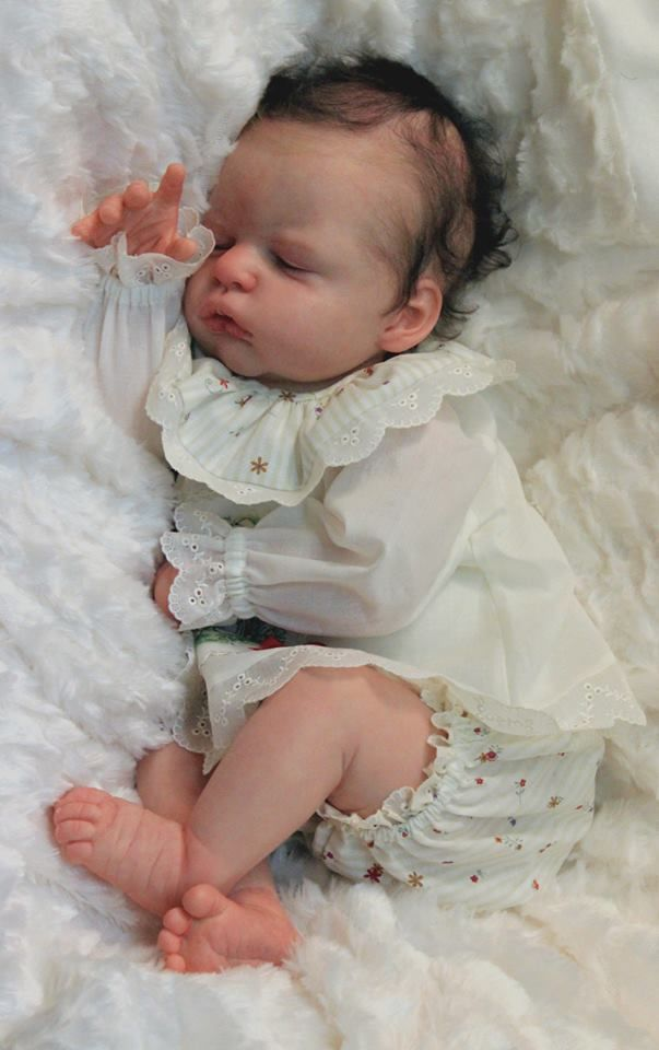 Anastasia by Olga Auer - Online Store - City of Reborn Angels Supplier of Reborn Doll Kits and Supplies