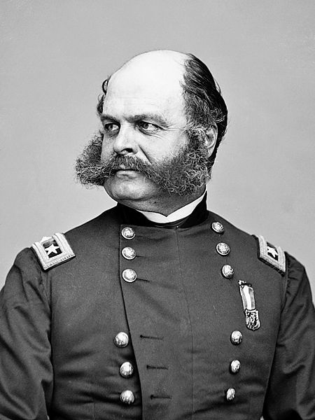 General Ambrose Burnside the Father of sideburns
