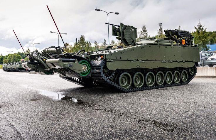 CV 90 / Strf 90 ARV (Armoured Recovery Vehicle) – Esercito Svedese