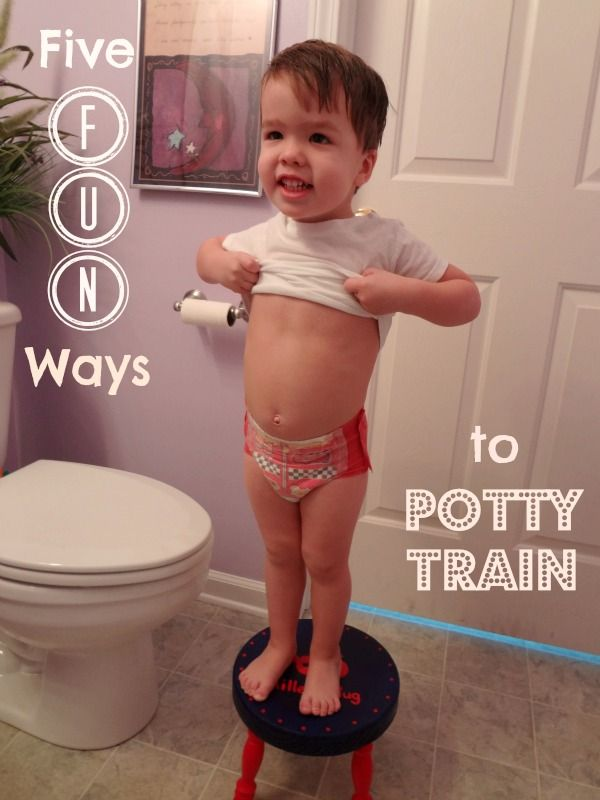 Five Fun Ways to Potty Train - Stop making Potty Training a chore and make it a Party!