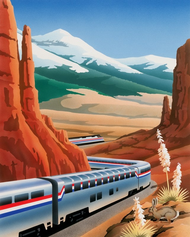 42 Best Travel Amtrak Posters Images On Pinterest
