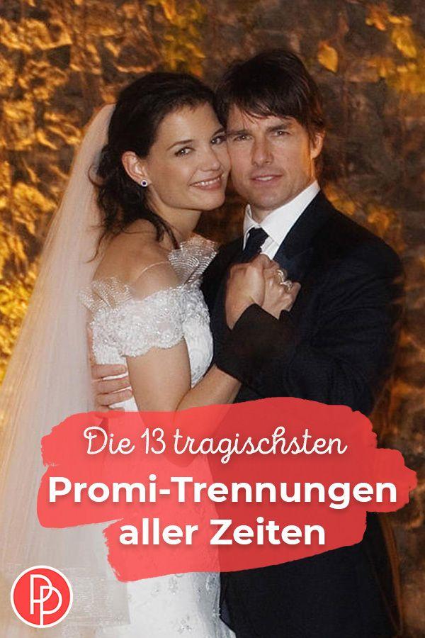 Die 13 Tragischsten Promi Trennungen Aller Zeiten Trennung Katie Holmes Tom Cruise