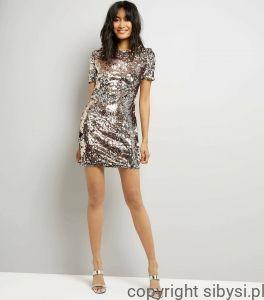 Chica  Sukienka z cekinami, krótki rękaw #fashionstyle #dress