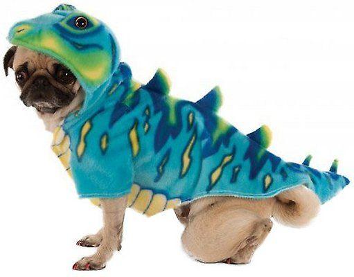 Rubie S Costume Company Dino Dog Cat Costume Blue Small