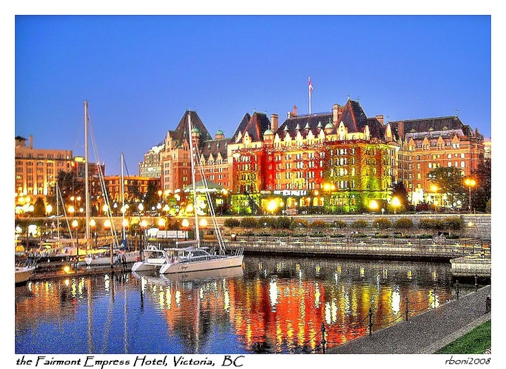The Empress Hotel on Victoria Island, Canada.  One of the top five most beautiful places I've ever been.  Victoria Island is amazing. I'd love to take the family back there one day.