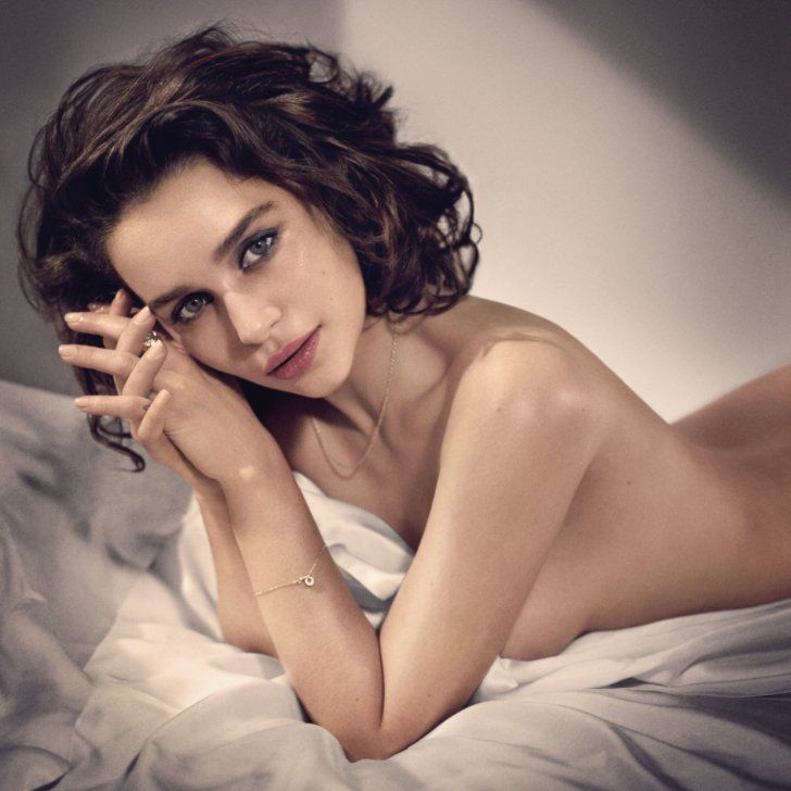 Emilia Clarke Poses Topless For Esquire, Is Named Sexiest Woman Alive