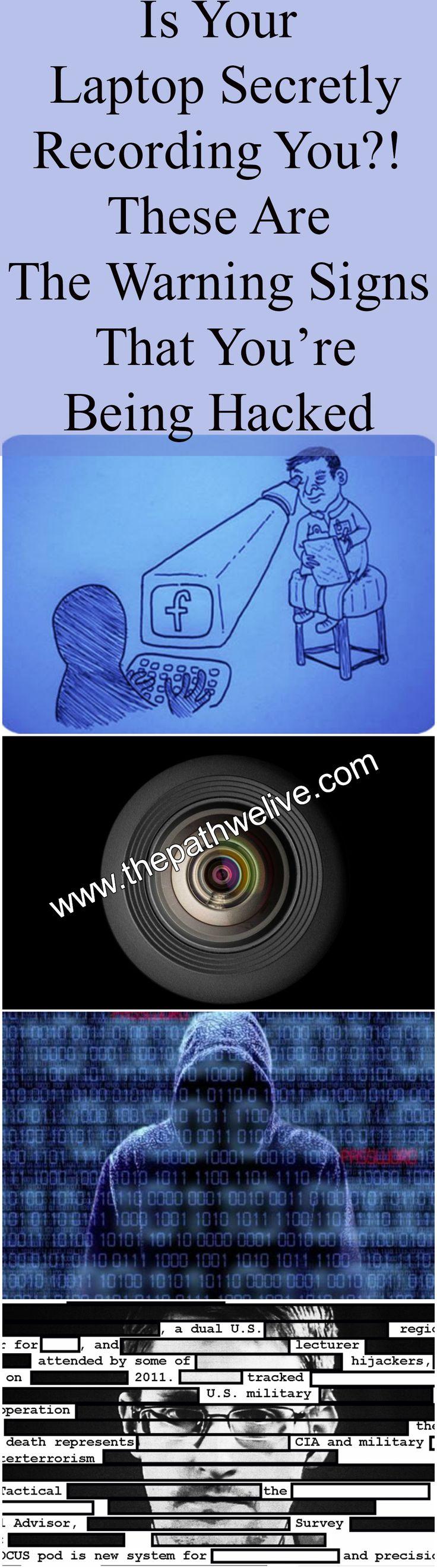 #Laptop #Computer #Recording #Hacking #Signs #Digital