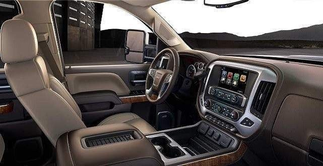 2020 Sierra Hd Denali Interior And Price Info Chevrolet
