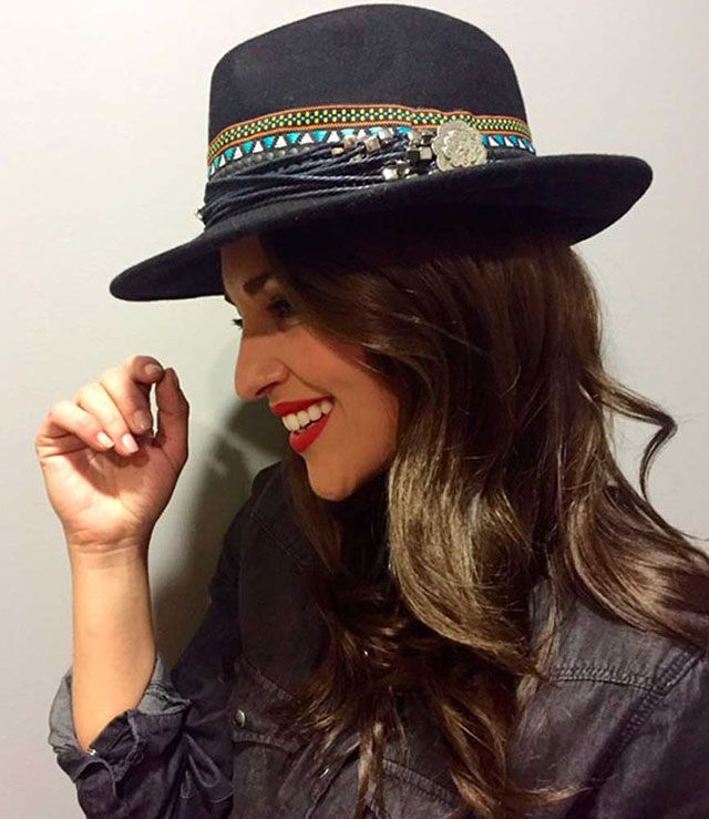 complemento - Sombrero estilo boho chic