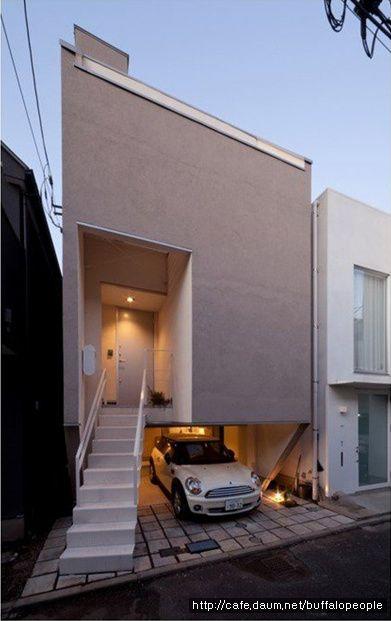 좁은땅에 세워진 믿기어려운 10평 협소주택 - Daum 부동산 커뮤니티