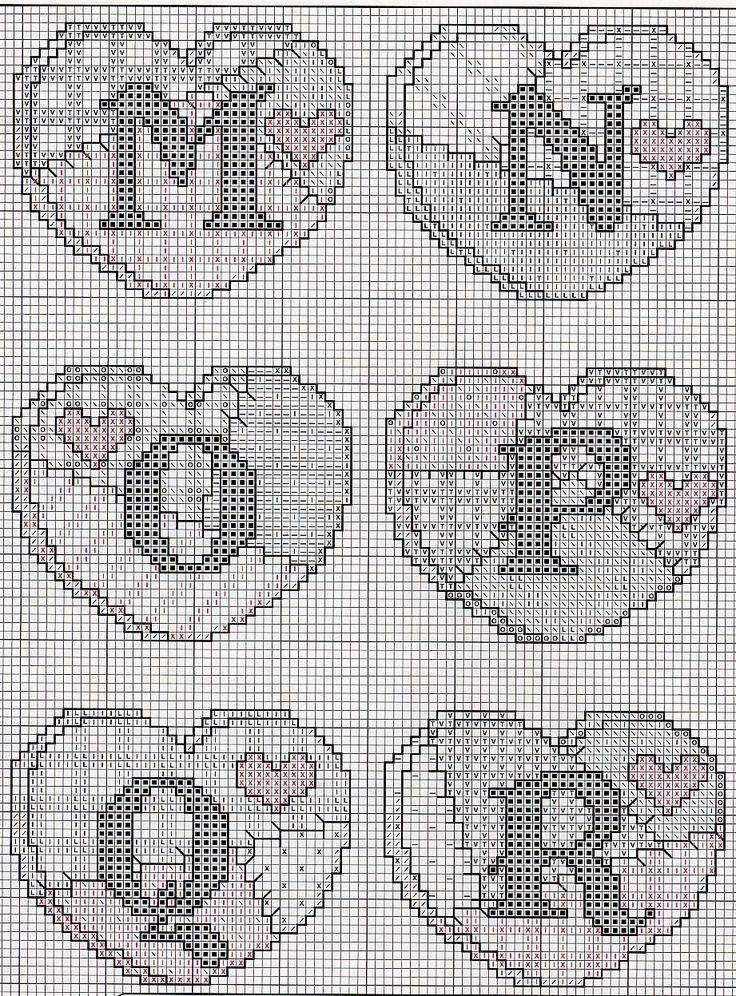 Schema punto croce Abc Patchwork 04