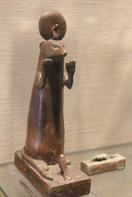 ヴァチカン美術館 カワウソ エジプトの神様