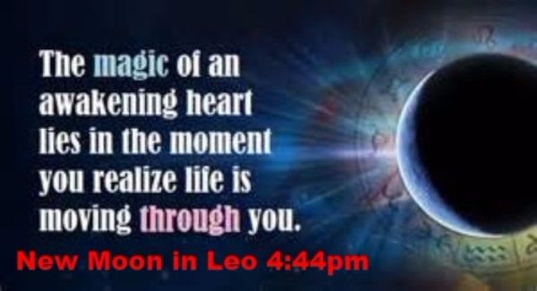 RE: New Moon in Leo today