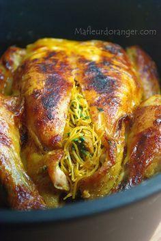 Avant de vous raconter l'histoire de ce poulet farci qui attend sagement dans son assiette, je voudrais vous parler d'une découverte qui pourrait interesser bon nombre entre vous qui habitez au Maroc et spécialement à Casablanca...
