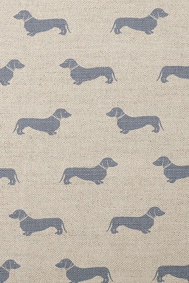 We can 39 t get enough of emily bond and her dachshund print for Where can you get fabric