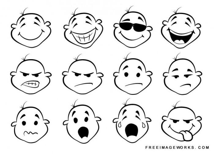 collection of facial expressions | character design | Pinterest