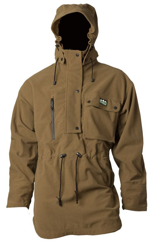 The Monsoon 2 Smock is Ridgeline's state-of-the-art storm weather outerwear in an anorak style. They have focused on the 'Big Four' - Warmth, Waterproofing, Durability and Functionality. Teak or Olive.