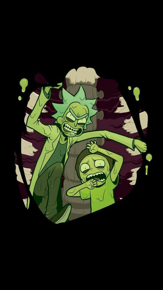 und Morty Mobile Wallpapers