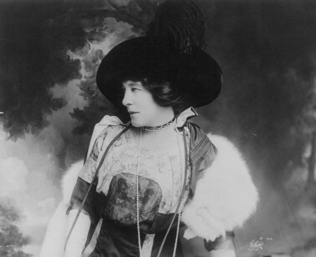 """Lillie Langtry was as a 19th century actress whose endorsement on beauty products such as Pear's soap guaranteed surefire sales. A muse to artists such as John Everett Millais, she became the lover of millionaires and royalty, including the very married Prince of Wales, i.e. the future Edward VII. """"Bertie"""" was so besotted with Lillie that he even introduced her to his mother, Queen Victoria, but he ended the affair after Lillie put ice down his back at a party and refused to apologize."""
