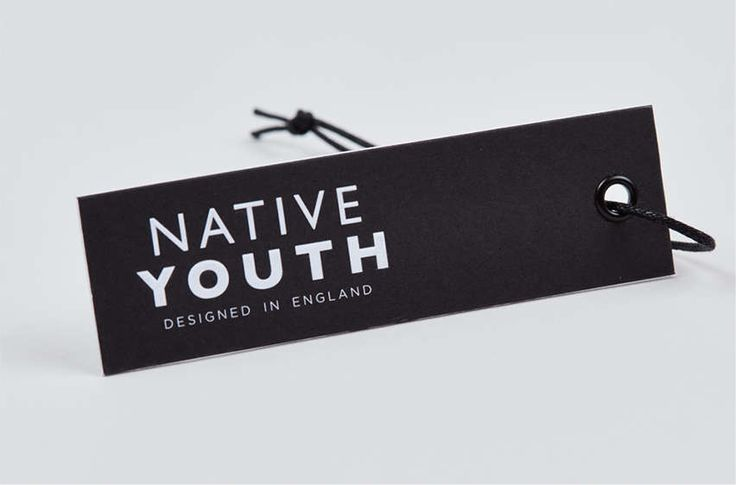 Native Youth Component and Clothing Tags