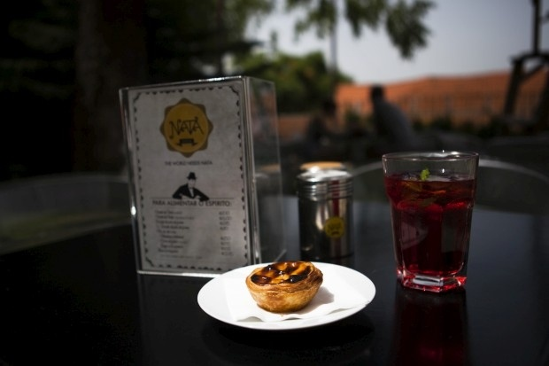 Nata Lisboa (Príncipe Real, Lisboa). Este pastel de nata quer conquistar o mundo e já tem casa (e esplanada) em Lisboa. Foto de Carla Rosado