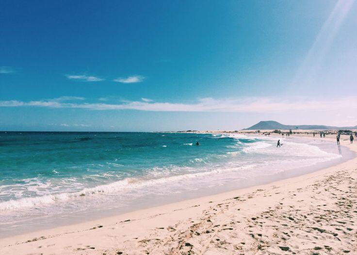 Beautiful beaches on Fuerteventura