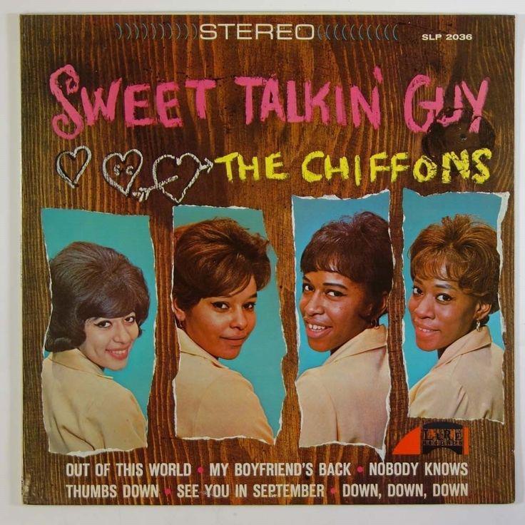 THE CHIFFONS Sweet Talking Guy STEREO VINYL MUSIC LP ALBUM RECORD #60SGIRLGROUP