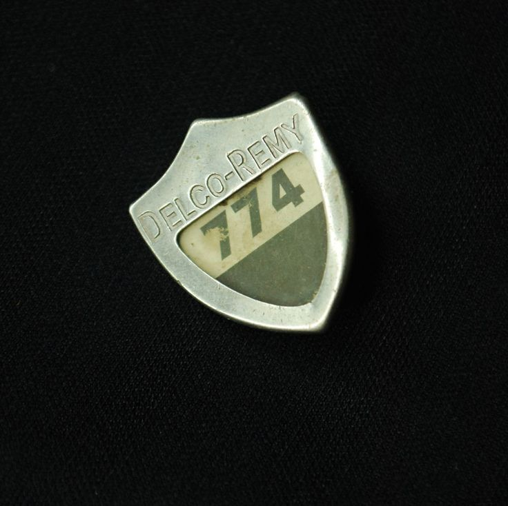 Delco Remy Plant Employee Security Badge #774 - Anderson, IN - General Motors
