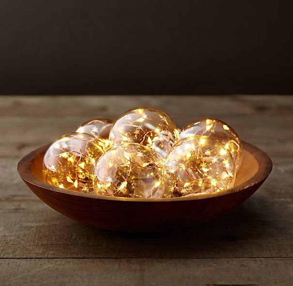 Restoration Hardware Starry String Lights Copper : Starry Glass Globe String Lights - Amber Lights On Copper Wire Restoration Hardware ...