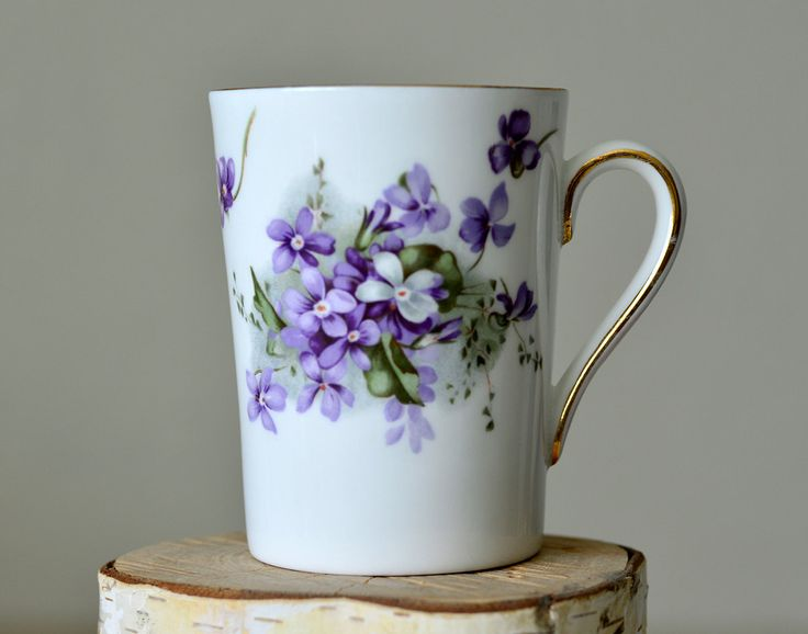 Vintage,Hammersley,Victorian Violets,England Countryside,Made in England,Bone…
