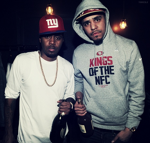 J. Cole x Nas