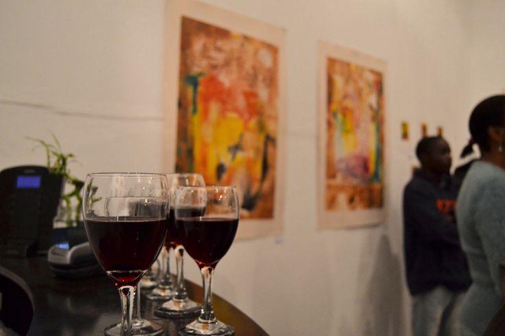 Opening night, Mebala Exhibition.