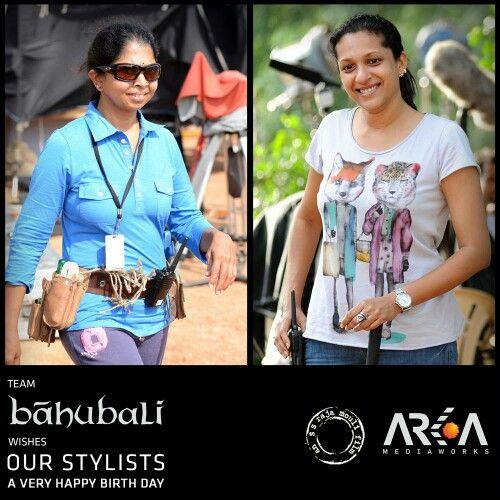 Team Baahubali wishes our Stylists Rama and Prashanthi a very Happy Birthday.