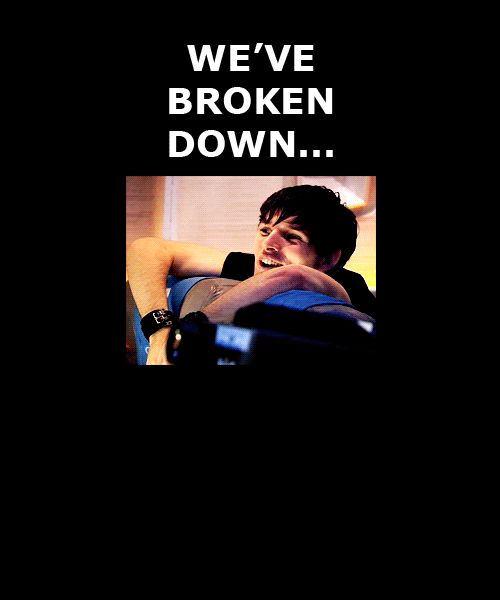 Too great!!!!!!!! Just click the gif!!! it's awesome because it's Doctor Who but that actor is Colin Morgan from Merlin