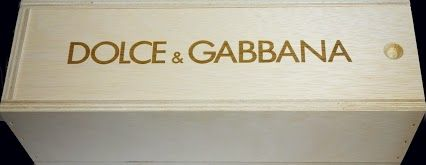 Dolce & Gabbana Custom Single Bottle Wine Crate