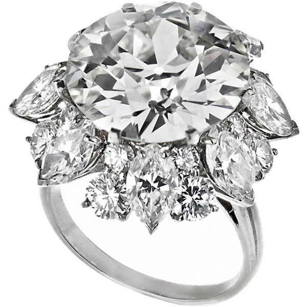 Bulgari 12.21 Carat GIA Certified Diamond Platinum Ring ($590,470) ❤ liked on Polyvore featuring jewelry, rings, bulgari, platinum jewelry, bulgari jewellery, diamond jewelry and diamond rings