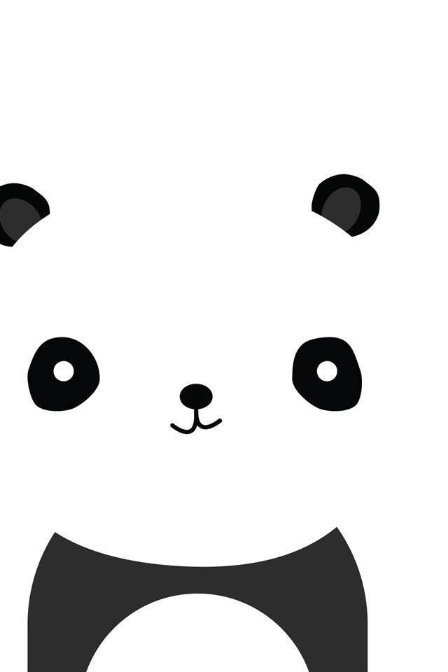 Fondo de pantalla panda.-