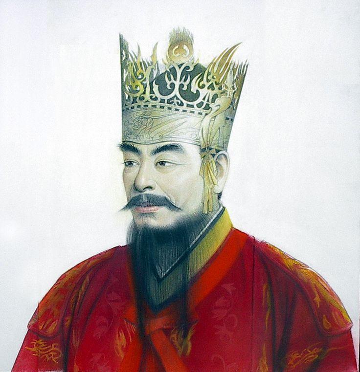 King Dongmyeong of Goguryeo (58 BC – 19 BC, r. 37 BC – 19 BC) 동명성왕 @ KoreanHistoricalDramas.com