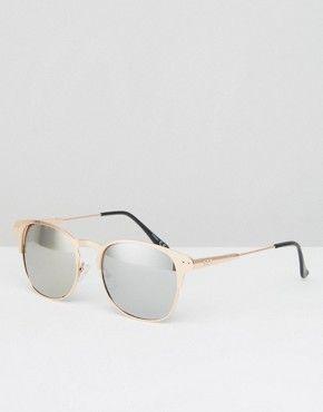 Jack & Jones Klassische Sonnenbrille, grün, Burnt Olive