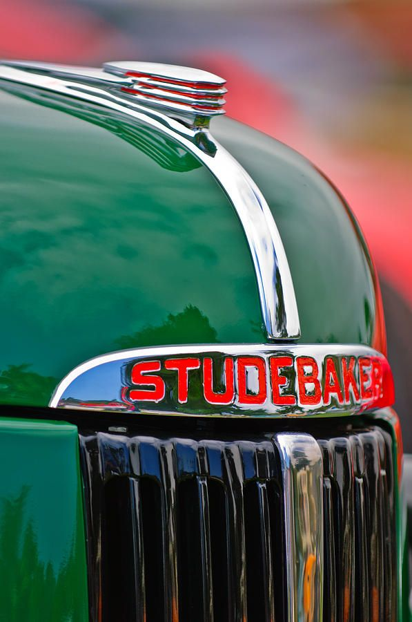 1941 STUDEBAKER Red Yellow Green Pickup Truck Vintage Look REPLICA METAL SIGN
