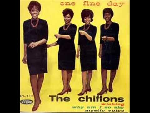 """One Fine Day"" by The Chiffons, from their 1963 single and album of the same name - lyrics by Gerry Goffin, music by Carole King"