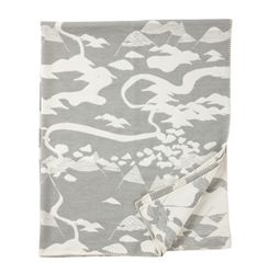Klippan Mountains Organic Cotton Blankets designed by Tina Backman, now at Northlight