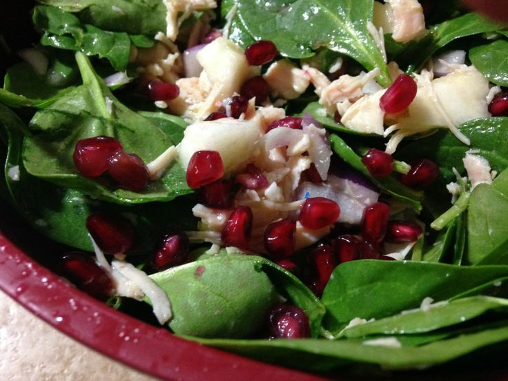 Pomegranate Pear winter salad | Paleo/Primal Veggies, Fruits, & Salad ...