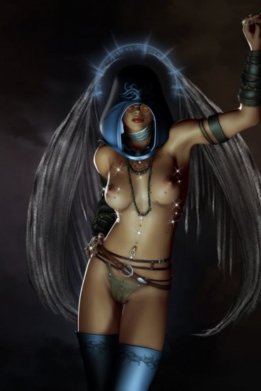 Erotic fantasy artwork